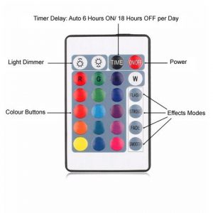 16 colour remote