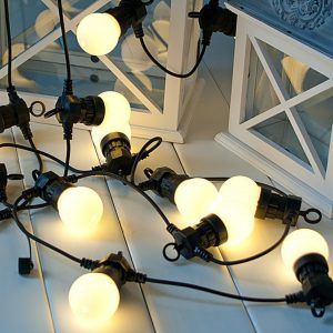 indoor festoon lights frosted bulb