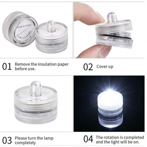 waterproof led tea lights